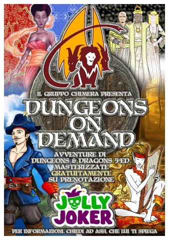 Dungeon on demand